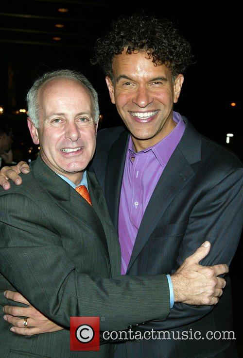 Joseph Benincasa and Brian Stokes Mitchell After party...