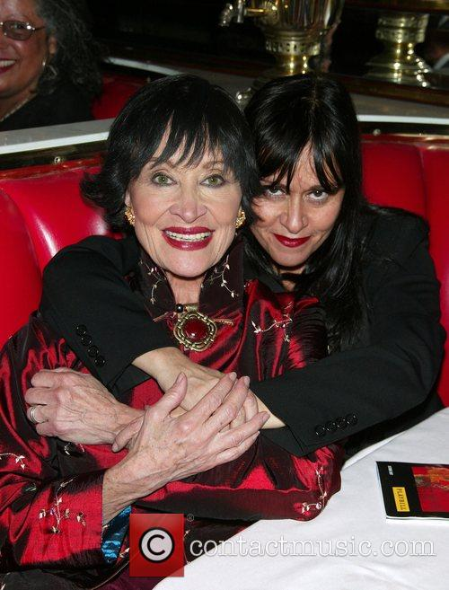 Chita Rivera and her daughter Lisa Mordente After...