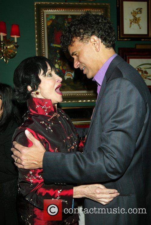Chita Rivera and Brian Stokes Mitchell After party...