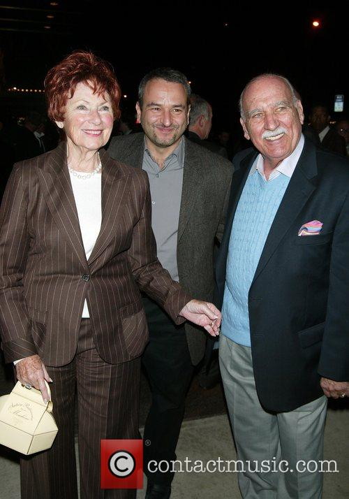 Marion Ross and guests After party celebrating Brian...