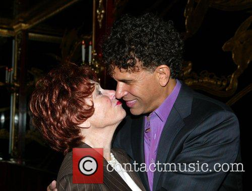 Marion Ross and Brian Stokes Mitchell After party...