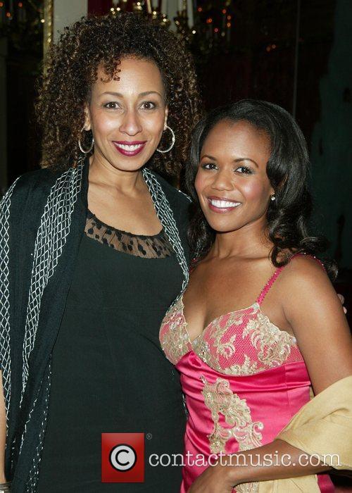 Tamara Tunie and Mikki Rene Daniels After party...