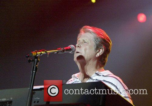 Brian Wilson of the Beach Boys performs a...