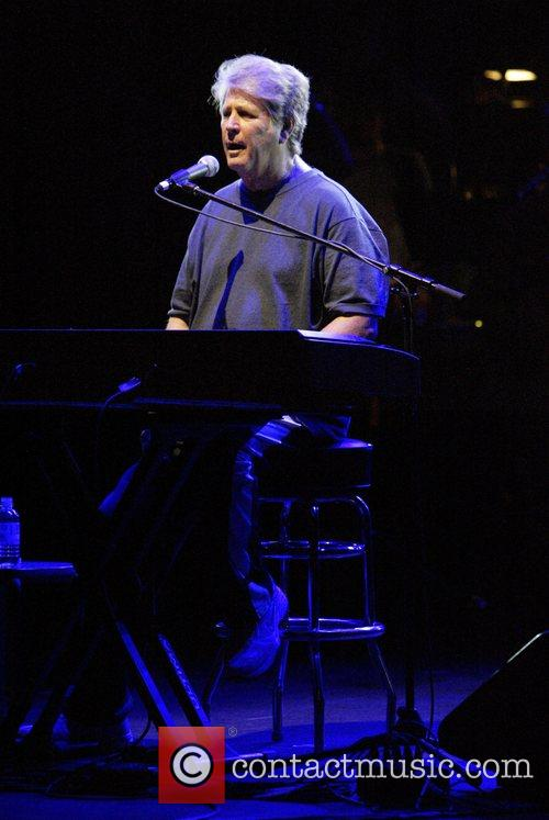 Brian Wilson of the Beach Boys performs in...