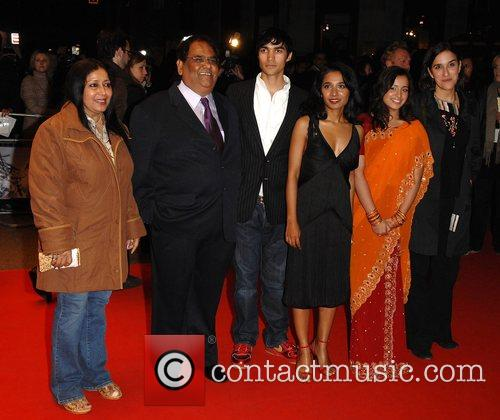 Tannishtha Chattejee, Christopher Simpson, Satish Kaushik, and guests...