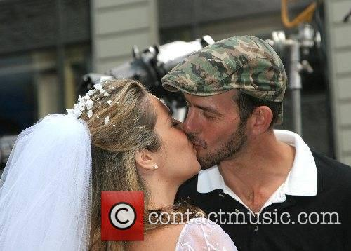Erica Foeldvari and her fiance WE TV's 'Bridezillas'...