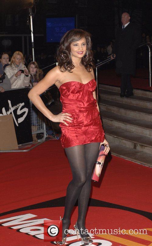 Alesha Dixon The Brit Awards 2008 held at...