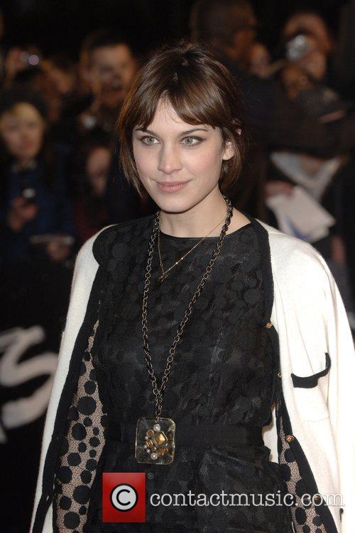 Alexa Chung 2008 BRIT Awards - Arrivals at...