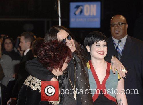 Sharon Osbourne, Ozzy Osbourne, Brit Awards, The Brit Awards 2008