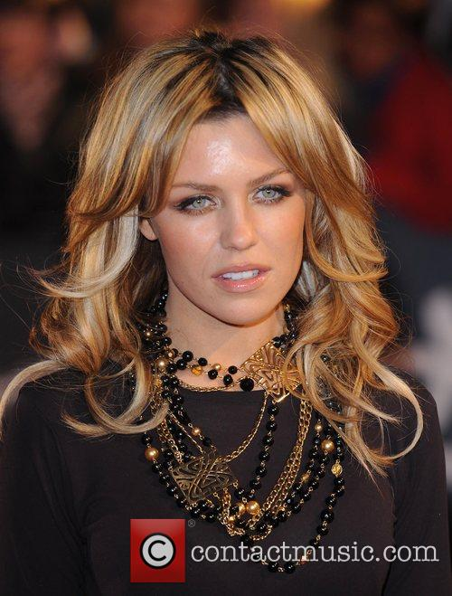 Abigail Clancy Brit Awards held at Earls Court...