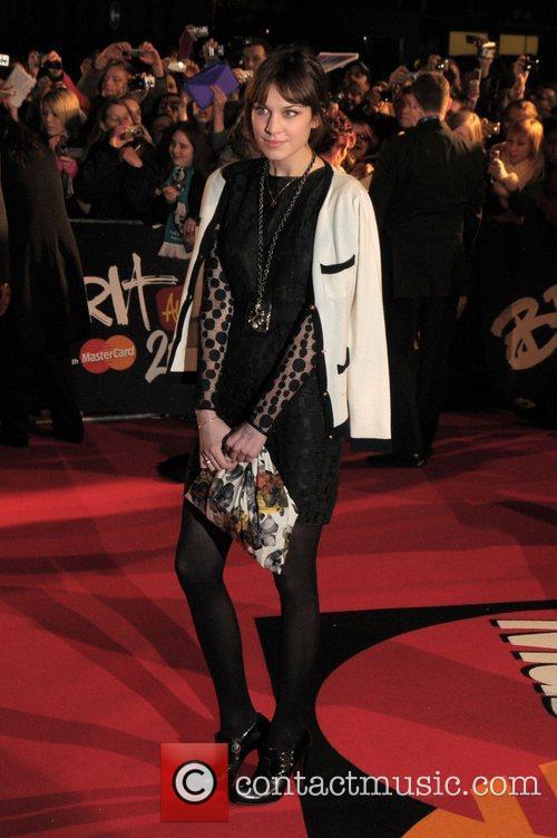 Alexa Chung at The Brit Awards 2008 -...