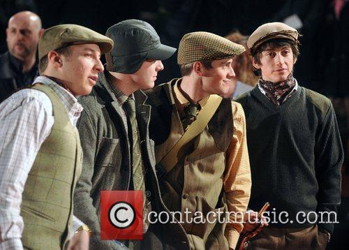 Arctic Monkeys BRITs 2008
