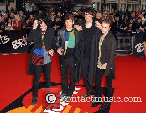Picture klaxons at brit awards the brit awards 2008