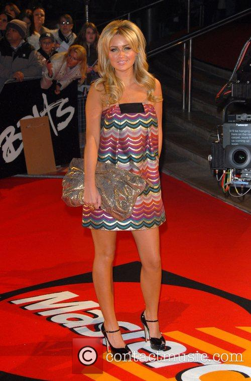 Alex Curran The Brit Awards 2008 Earls Court...