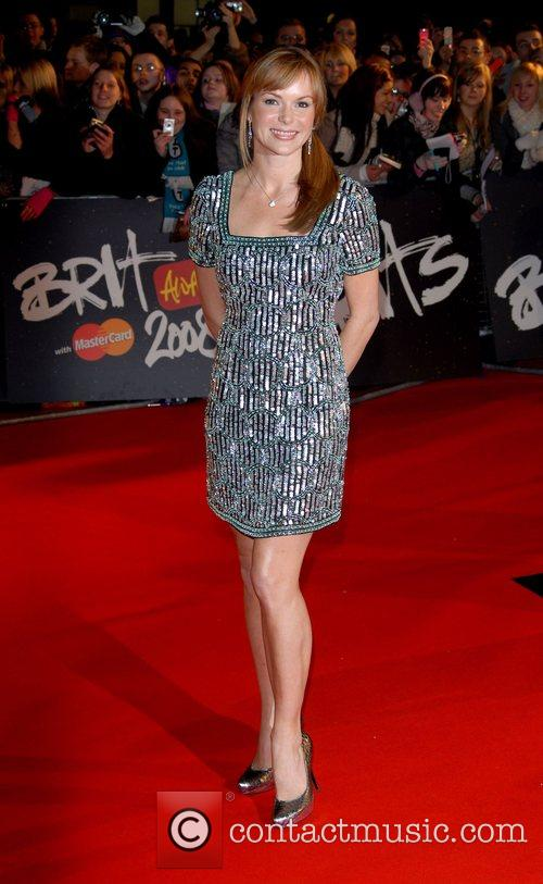 Amanda Holden The Brit Awards 2008 Earls Court...