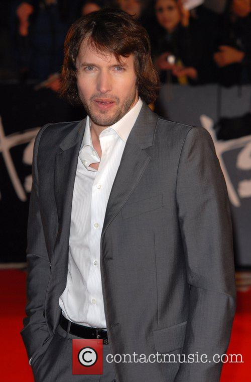 James Blunt The Brit Awards 2008 Earls Court...