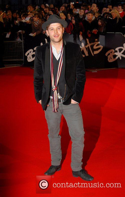Daniel Merriweather The Brit Awards 2008 Earls Court...