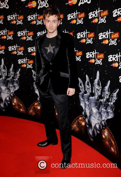 David Tennant at 2008 Brit Awards.