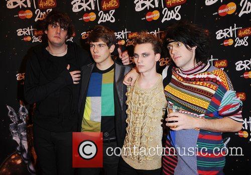 Klaxons, The Brit Awards 2008, Brit Awards