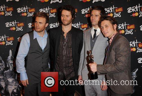 Brit Awards held at Earls Court - Press...