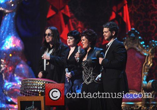 Ozzy Osbourne, Kelly Osbourne and Sharon Osbourne 1