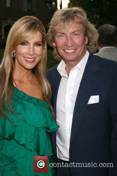 Alicia Jacobs and Nigel Lythgoe Champagne Launch of...