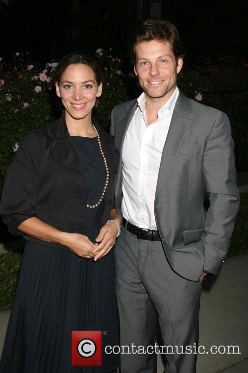 Jamie Bamber and Kerry Norton Champagne Launch of...