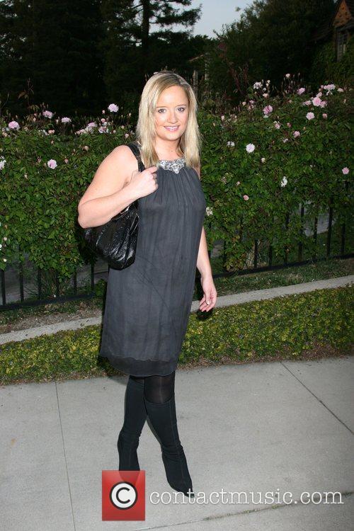 Lucy Davis Champagne Launch of BritWeek 2008, held...
