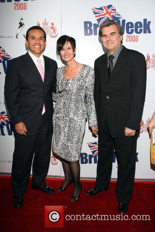Los Angeles Mayor Antonio Villaraigosa, Sharon Harroun Peirce...
