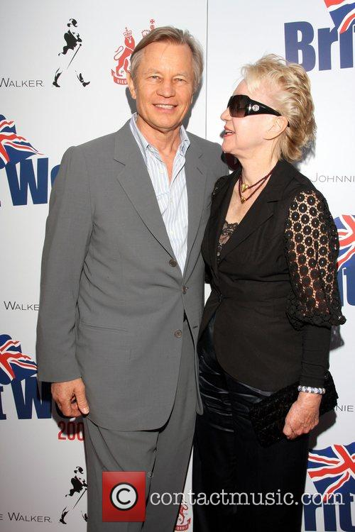Michael York and Patricia McCallum Champagne Launch of...