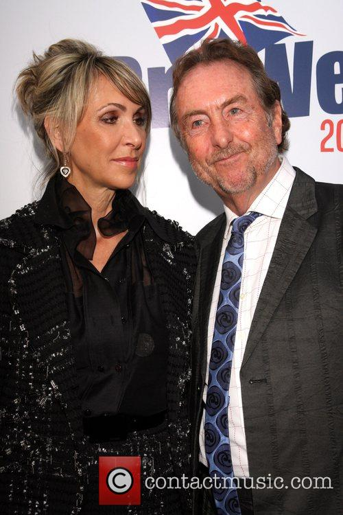 Tania Kosevich and Eric Idle Champagne Launch of...