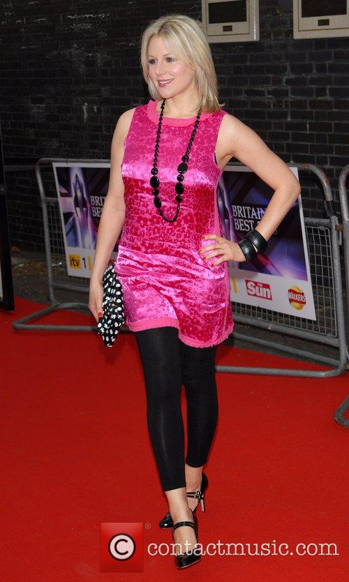 Abi Titmuss Britain's Best 2008 at London Television...