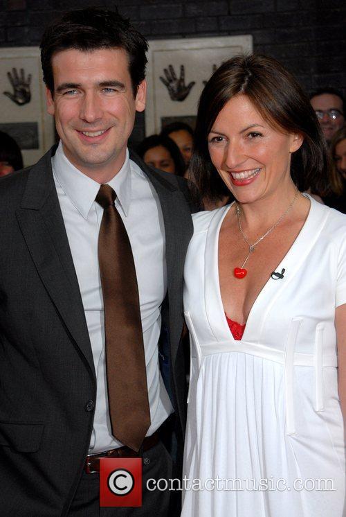 Davina McCall and Matthew Robertson Britain's Best 2008...