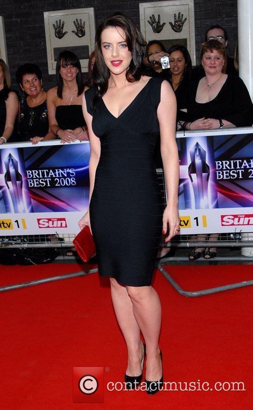 Michelle Ryan Britain's Best 2008 at London Television...