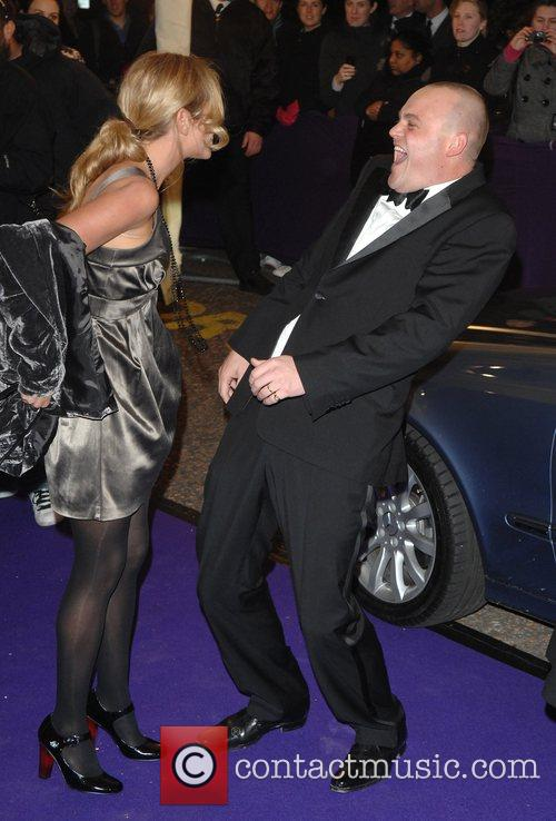 Al Murray and guest British Comedy Awards 2007...