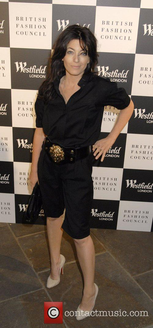 Claudia Winkleman Westfield London and the British Fashion...