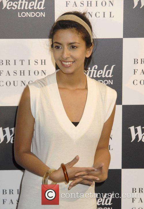 Konnie Huq Westfield London and the British Fashion...