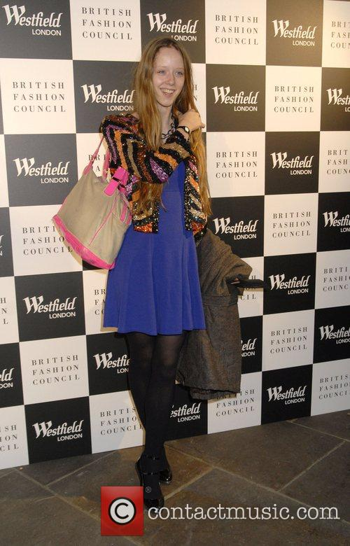 Marwenna Westfield London and the British Fashion Council...