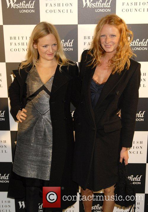 Olivia Inge and her Sister Westfield London and...