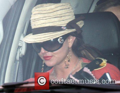 Britney Spears arriving at Millenium dance studios Los...