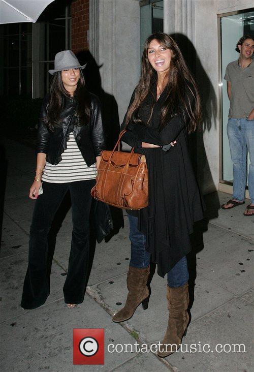 Brittny Gastineau leaving Mr Chow restaurant Los Angeles,...