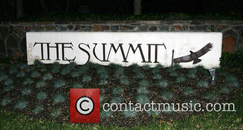 Britneys residence 'The Summit' in Beverly Hills SPEARS...