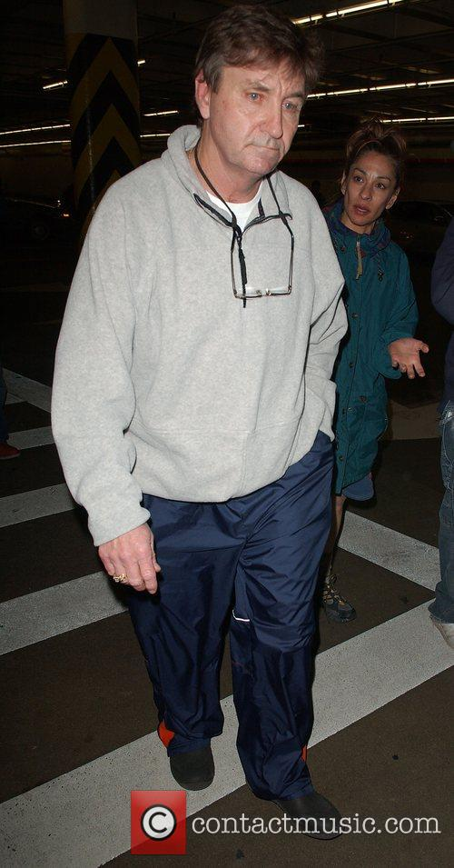 Britney's father, Jamie Spears arrives at the UCLA...
