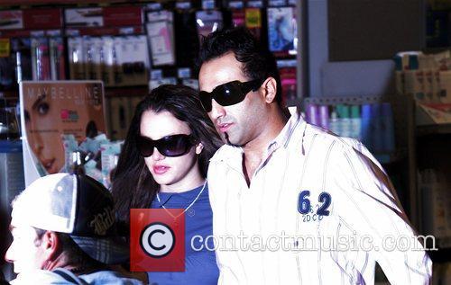 Britney Spears with her boyfriend, photographer Adnan Ghalib...