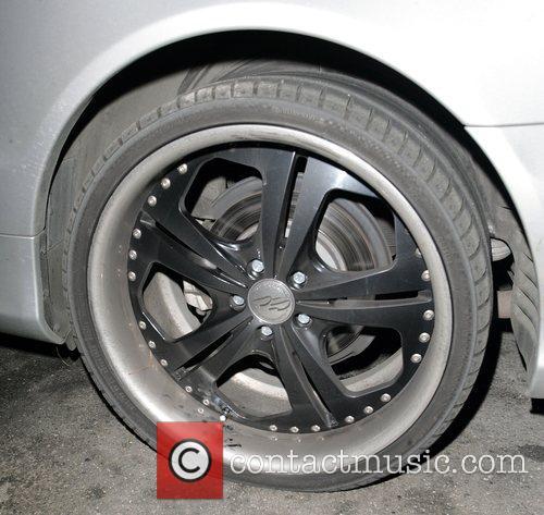 Adnan Ghalib's car had suffered a flat tyre.