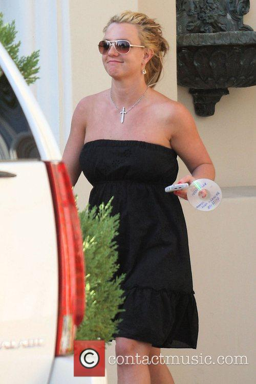 Britney Spears carries a CD with her vocal...