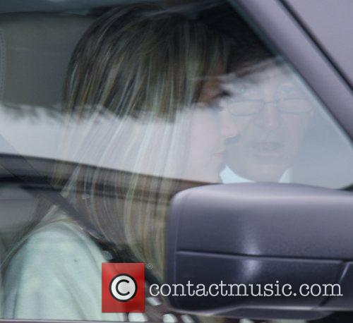 Britney Spears leaving the LA Superior Court House...