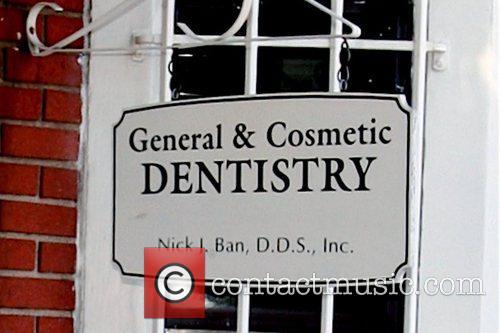 Atmosphere Britney Spears visits a dentist at San...