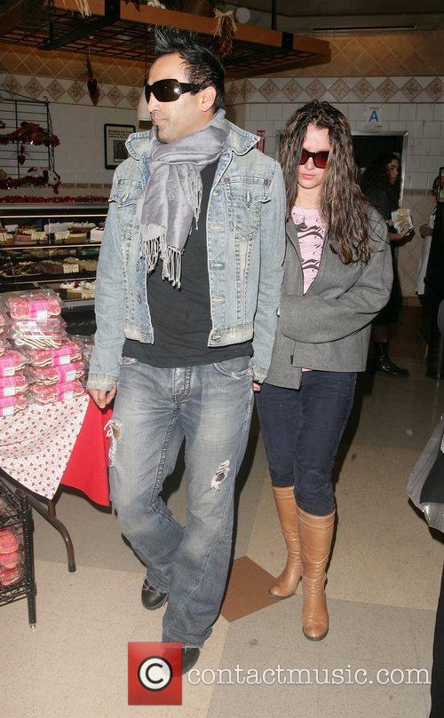 Britney Spears and her new boyfriend Adnan Ghalib...