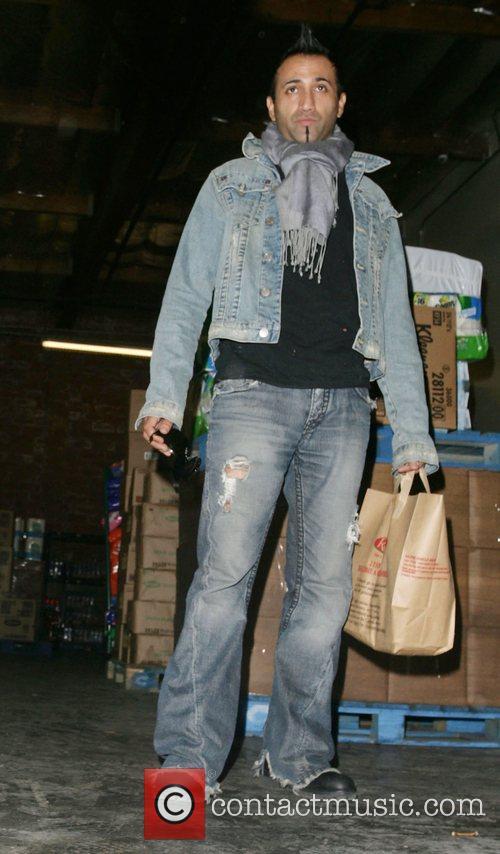 Adnan Ghalib leaving after shopping at Ralphs